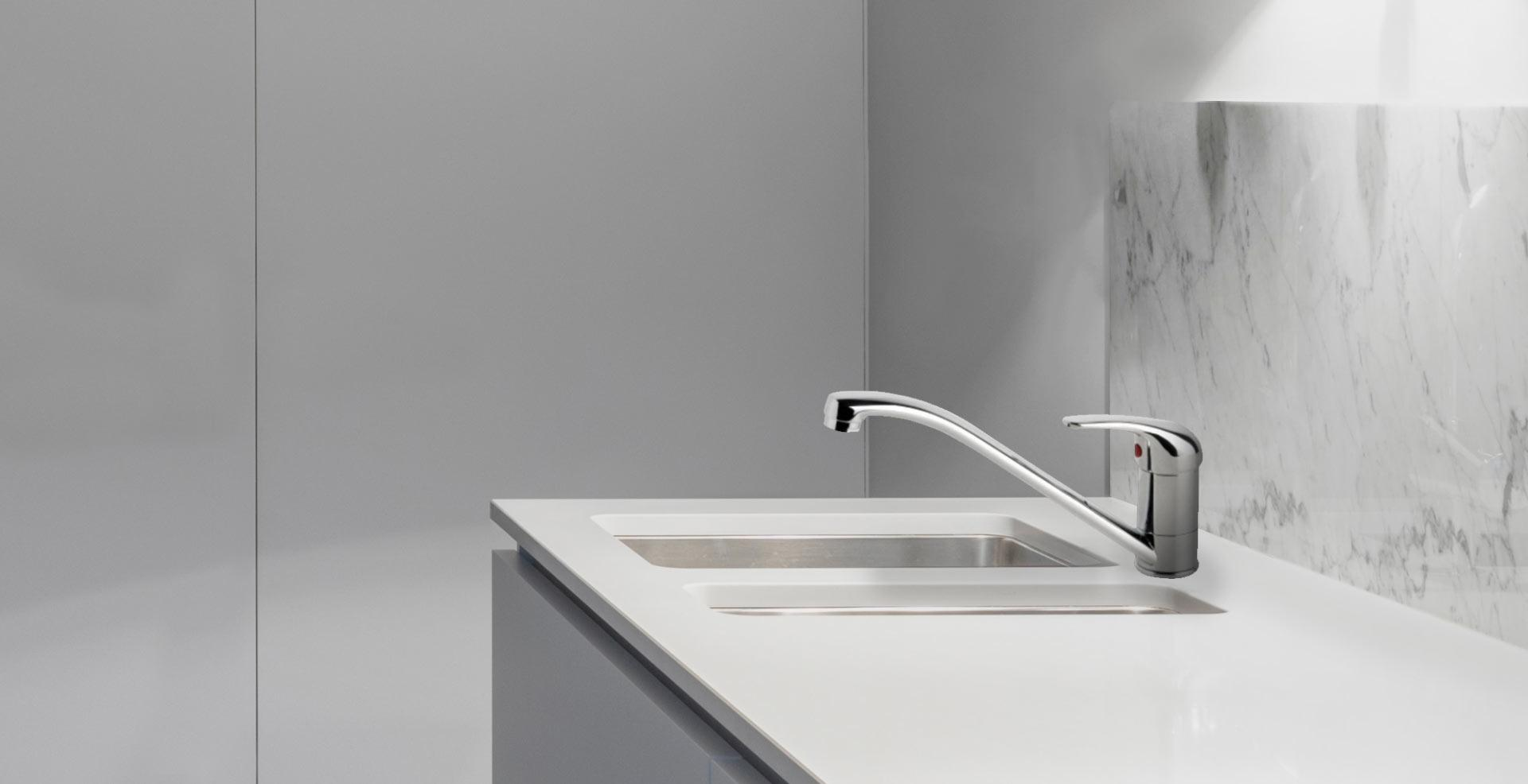 Australian Made Slimline Sink Mixer