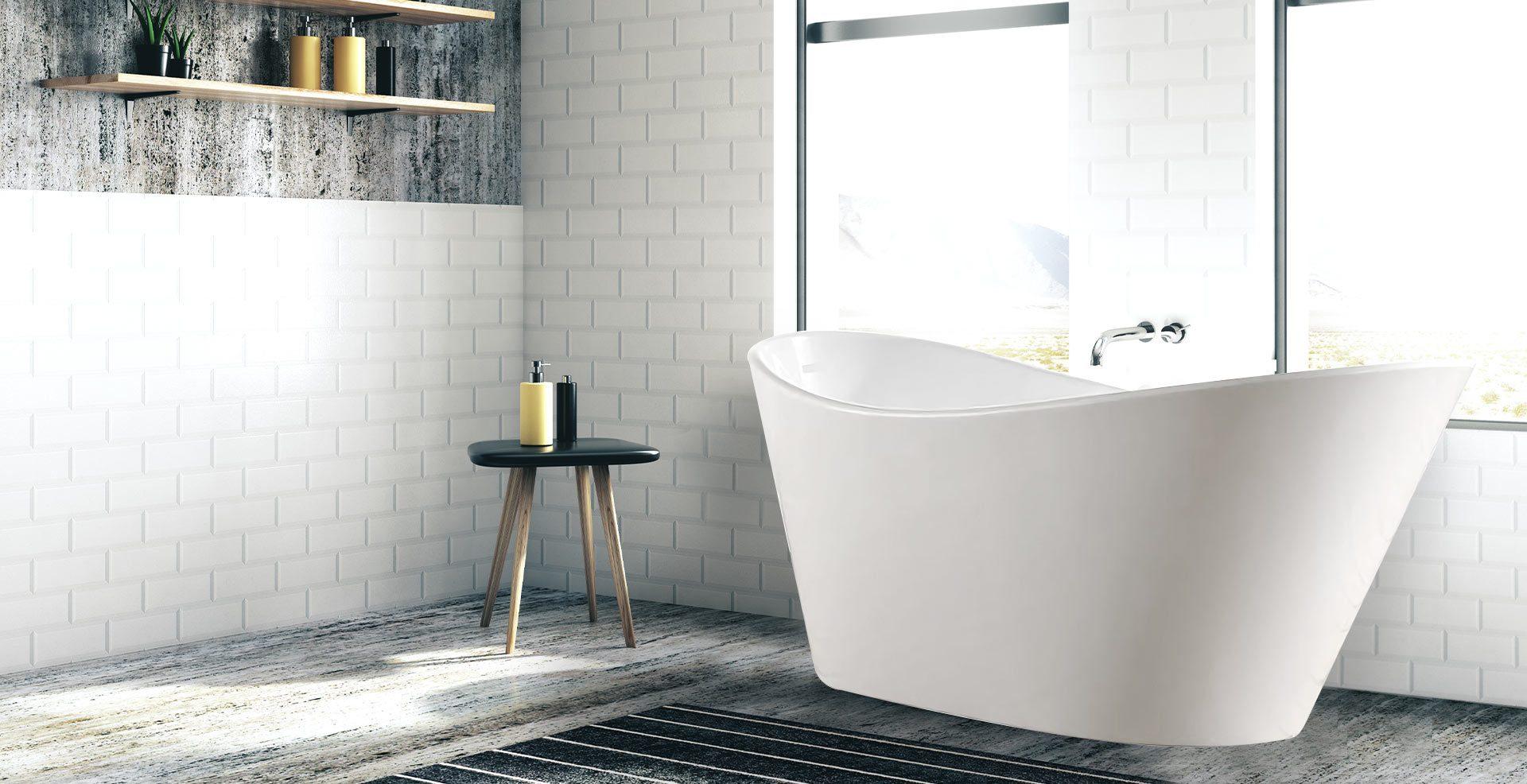 Pisa Freestanding 1700mm Bath