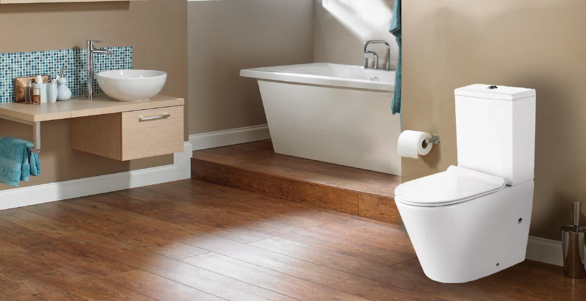 Prestige BTW Rimless Toilet Suite