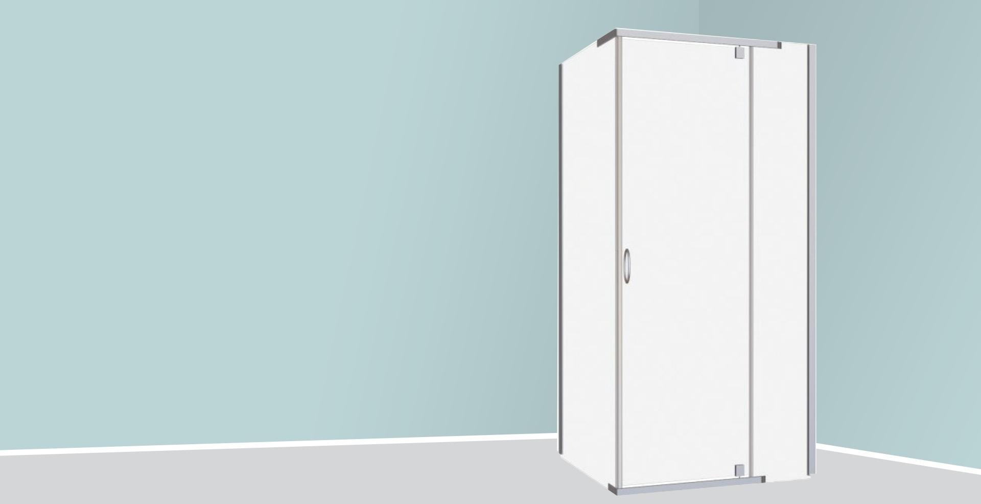 Melville 900mm² Shower Enclosure
