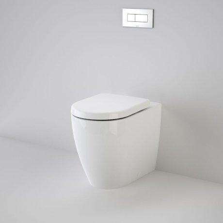 27966 Caroma Olida Urbane Cleanflush Wall Faced Invisi Series II Toilet Suite 746100 W HI 63674