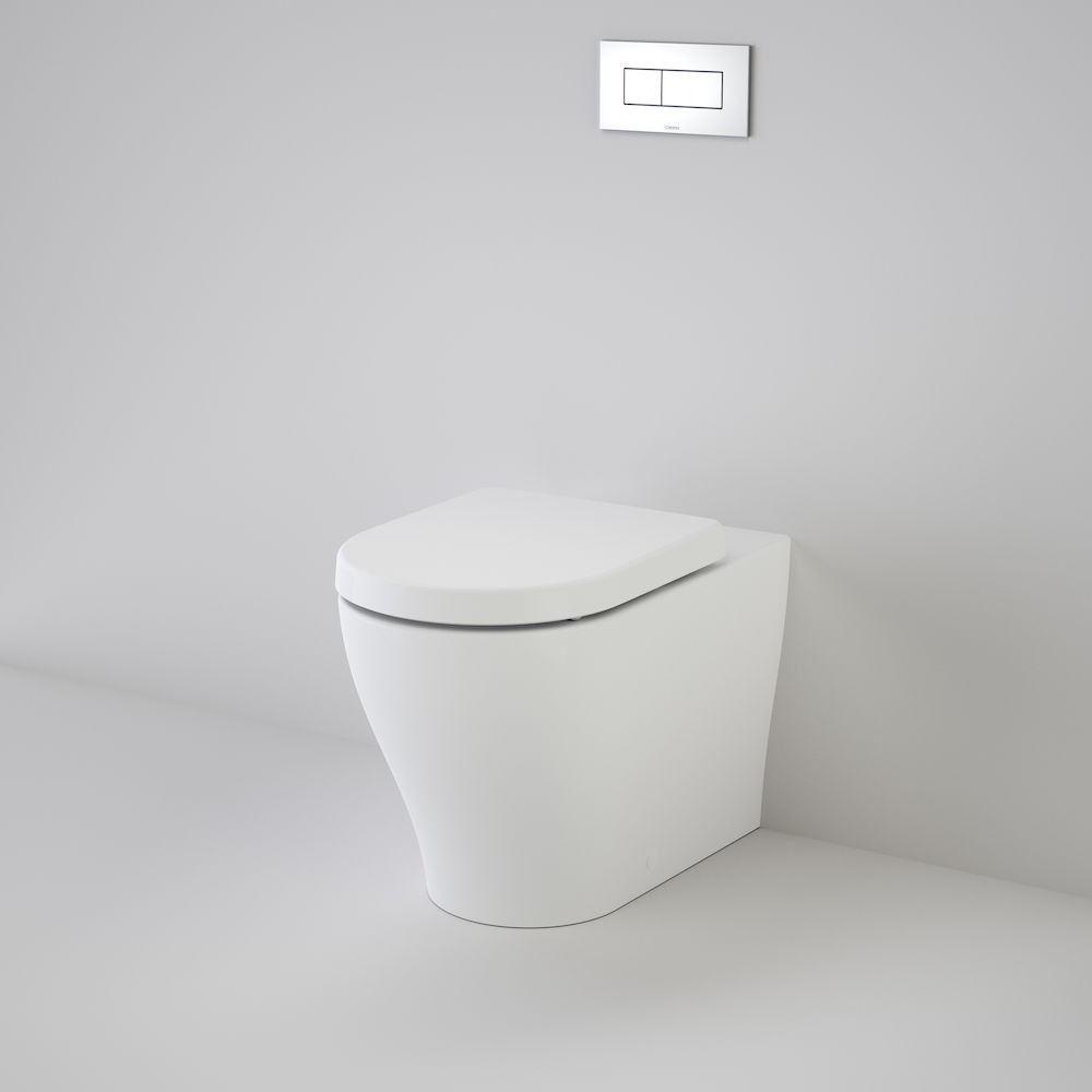 37953 Caroma Coolibah Luna Cleanflush Invisi Series II Wall Faced Toilet Suite 844910 W HI 79636