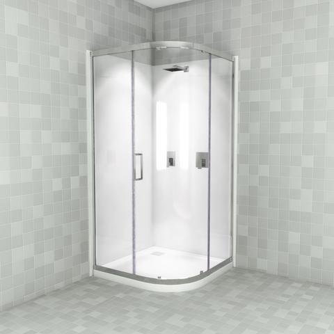 Lavano 1000 Curved Shower large