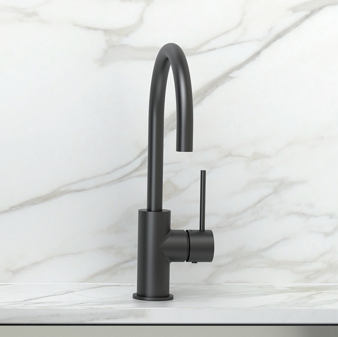 Phoenix Vivid Slimline Sink Mixer 160mm WEB
