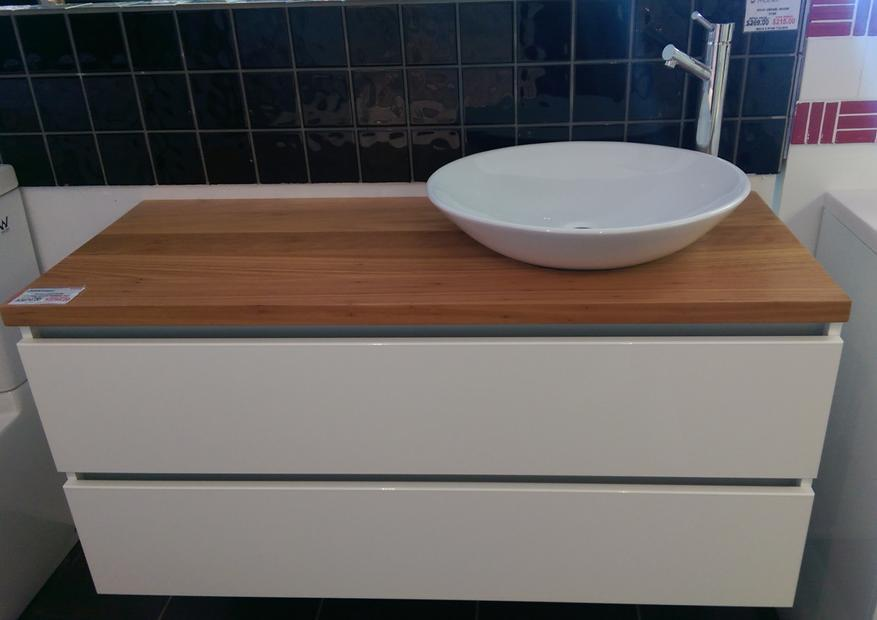 Platinum Timber Top Vanity Unit