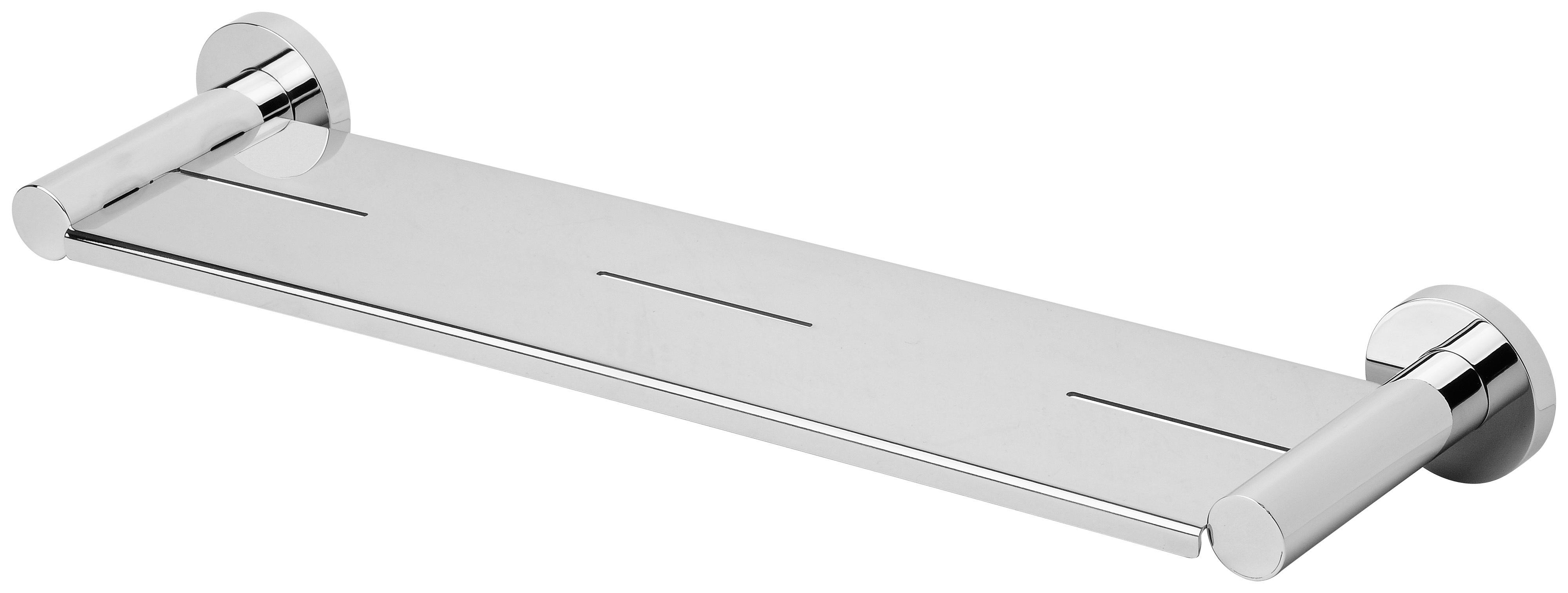Raddii metal shelf chrome