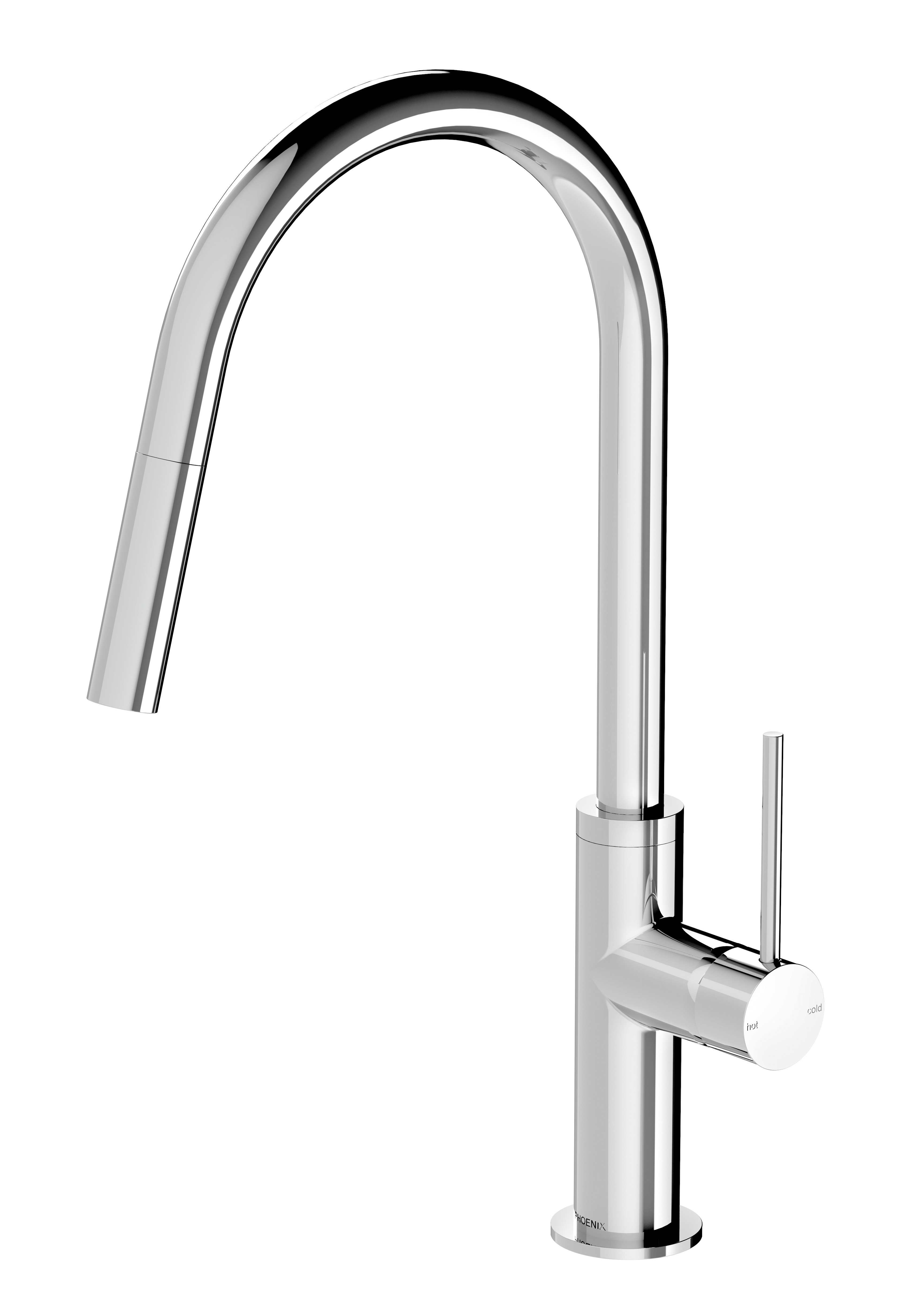 VS7105 00 Vivid Slimline Pull Out Sink Mixer 1