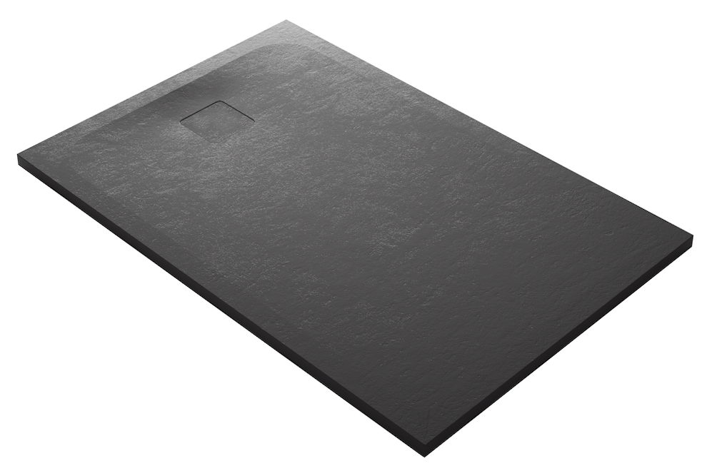 Domus living cemento nero shower tray