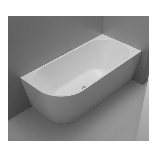 Kiato corner freestanding bath rh 1500mm